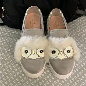 Kate Spade owl shoes sz8